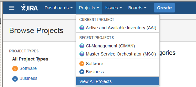 Tracking Issues with JIRA - Developer Wiki - Confluence