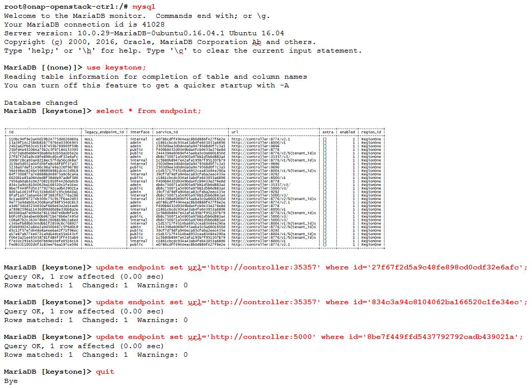 ONAP Installation in Vanilla OpenStack - Developer Wiki