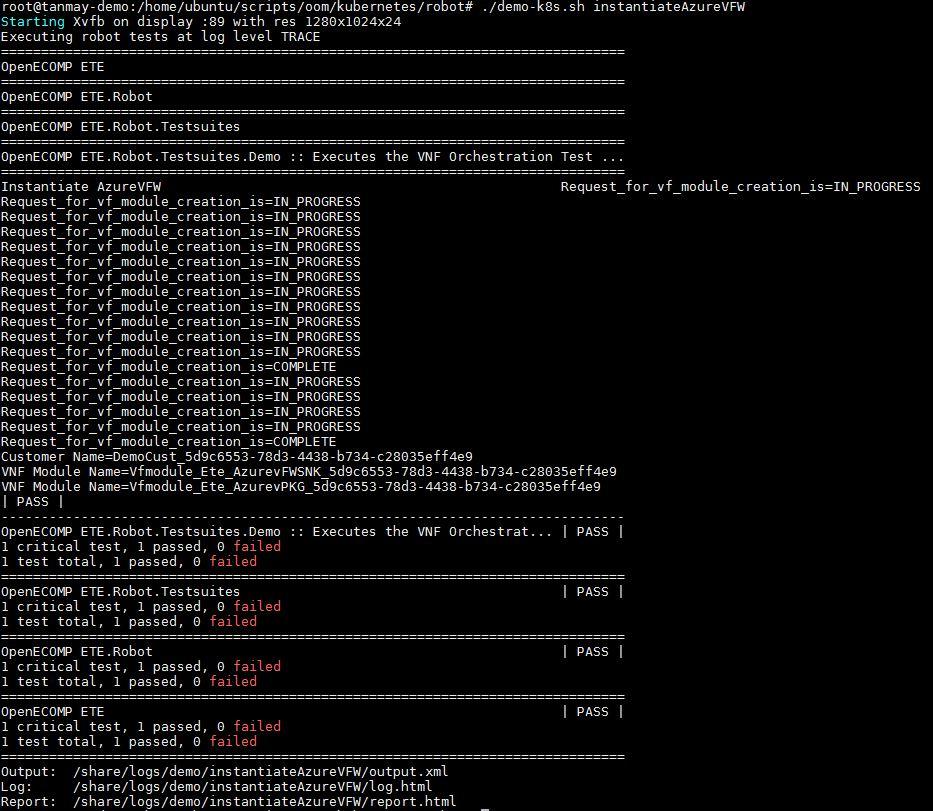 vFW on Azure - Developer Wiki - Confluence