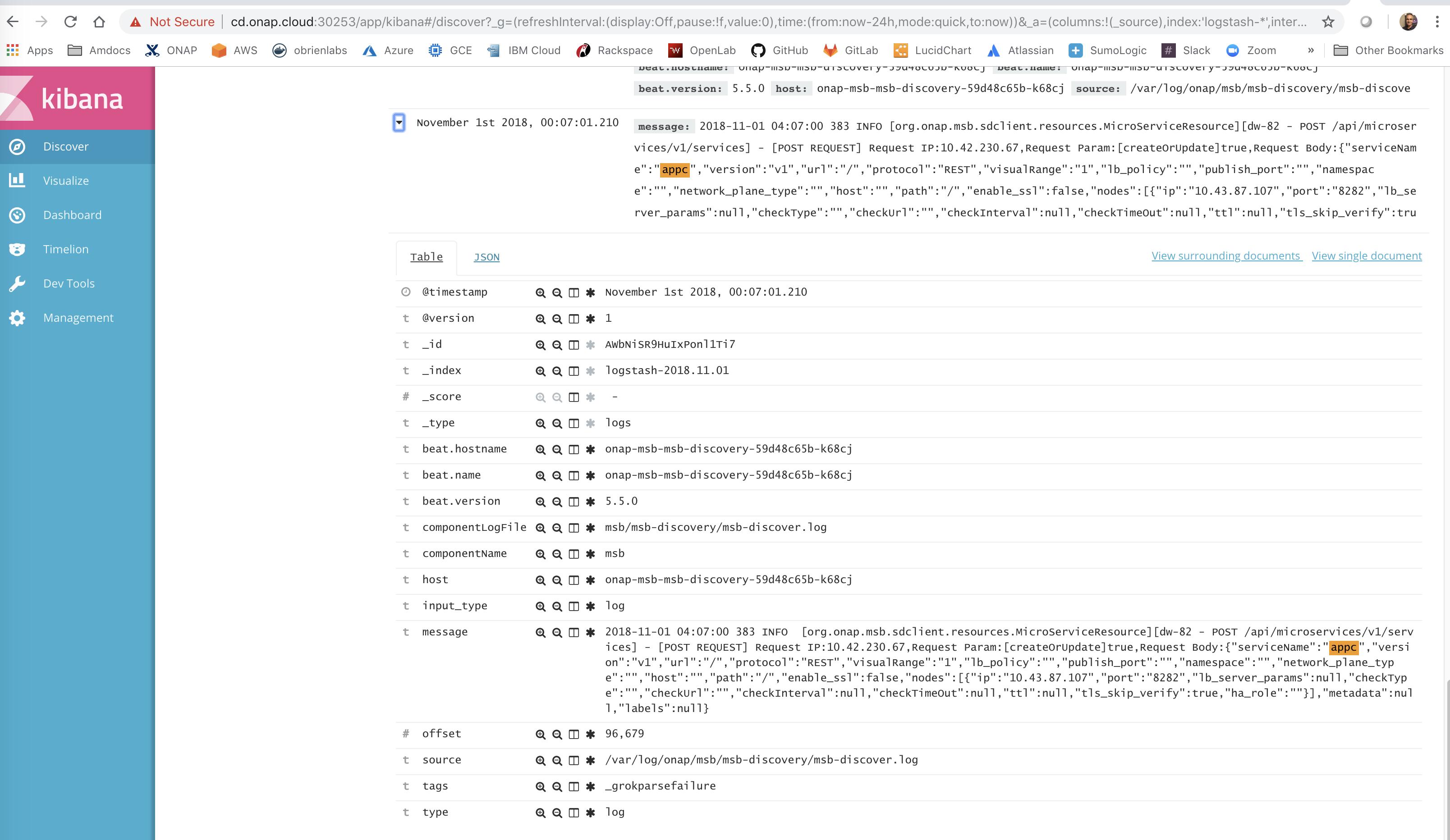 Logging Pair Wise Testing for Casablanca Release - Developer