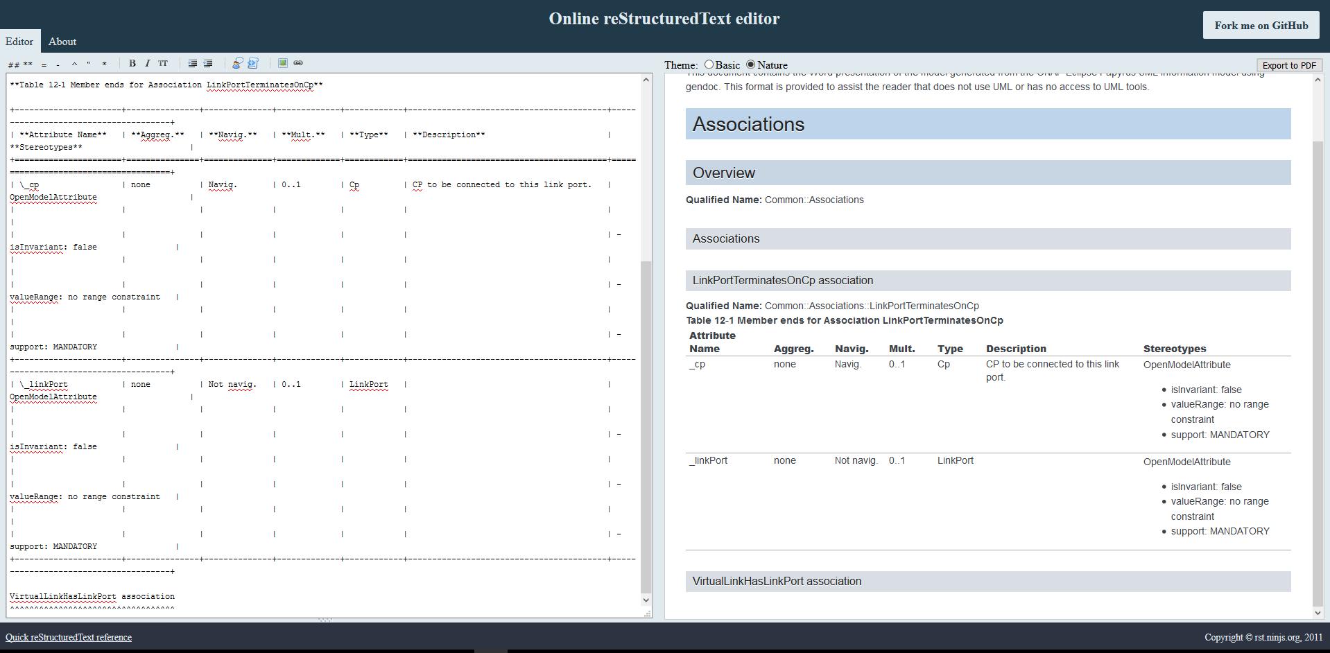 RST Document Generation Tutorial - Developer Wiki - Confluence