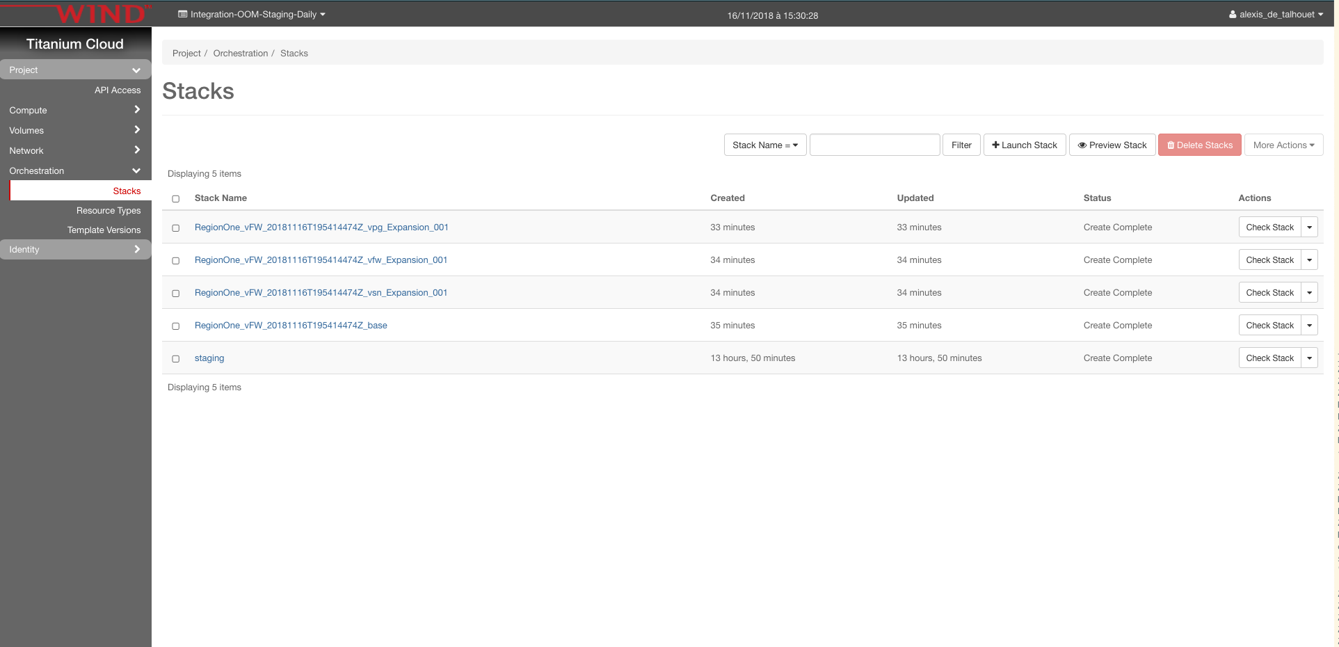 vFW CDS Casablanca - Developer Wiki - Confluence