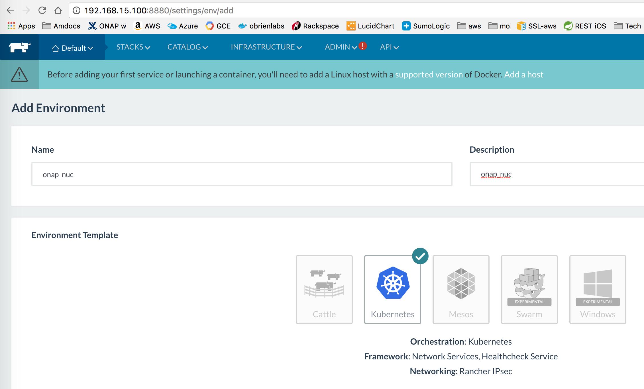 ONAP on Kubernetes - Developer Wiki - Confluence