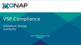 VSP Compliance Check within SDC (Dublin) - Phase 1